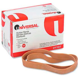 Universal® Rubber Bands, Size 107, 7 x 5/8, 40 Bands/1lb Pack