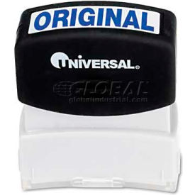 Universal Message Stamp, ORIGINAL, Pre-Inked/Re-Inkable, Blue