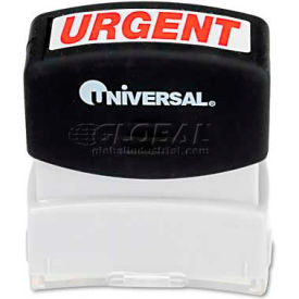 Universal Message Stamp, URGENT, Pre-Inked/Re-Inkable, Red