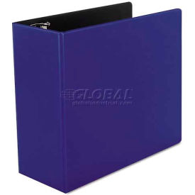 "Universal One D-Ring Binder, 5"" Capacity, 8-1/2 x 11, Royal Blue"