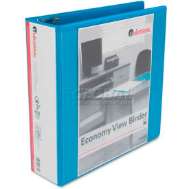 "Avery Economy D-Ring Vinyl View Binder, 3"" Capacity, Light Blue by"