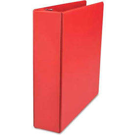 """Universal One D-Ring Binder, 2"""" Capacity, 8-1/2 x 11, Red"""