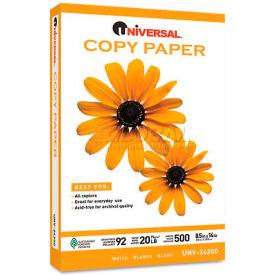 Copy Paper – Universal UNV24200PLT – White - 8-1/2 x 14 - 20 lb. - 150,000 Sheets/Pallet