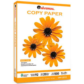Copy Paper – Universal UNV28110 – White - 11 x 17 - 20 lb. - 2500 Sheets/Carton