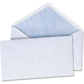 Universal® Security V-Flap Envelope, 3 5/8 x 6 1/2, White, 250/Box