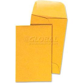 Universal® Kraft Coin Envelope, #1, Light Brown, 500/Box