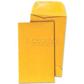 Universal® Kraft Coin Envelope, #3, Light Brown, 500/Box