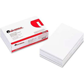Universal® Scratch Pads, Unruled, 5 x 8, White, 12 100-Sheet Pads/Pack