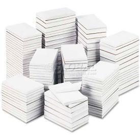 Universal® Bulk Scratch Pads, Unruled, 3 x 5, White, 180 100-Sheet Pads/Carton