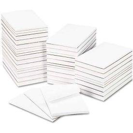 Universal® Bulk Scratch Pads, Unruled, 5 x 8, White, 100-Sheet Pads, 64 Pads/Carton