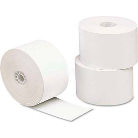 "Universal One® Single-Ply Thermal Paper Rolls, 3-1/8"" x 230 ft, White, 10/Pack"