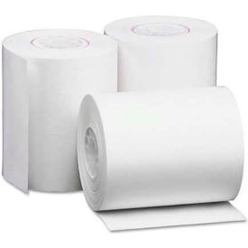 "Universal One® Single-Ply Thermal Paper Rolls, 2-1/4"" x 80 ft, White, 50/Carton"