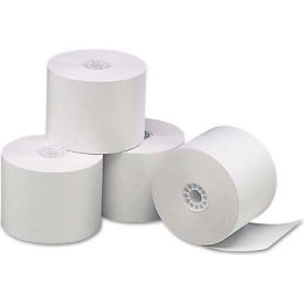 """Universal One® Single-Ply Thermal Paper Rolls, 2-1/4"""" x 85 ft, White, 3/Pack"""