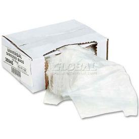 Universal High-Density Shredder Bags, 15w x 11d x 30h, 100 Bags/Carton, Clear