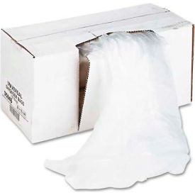 Universal High-Density Shredder Bags, 26w x 18d x 48h, 100 Bags/Carton, Clear