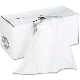 Universal High-Density Shredder Bags, 28w x 22d x 48h, 100 Bags/Carton, Clear