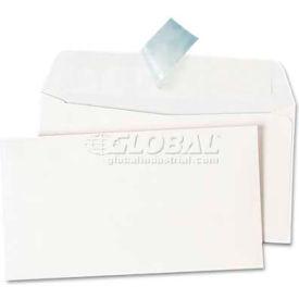 Universal One® Peel Seal Strip Business Envelope, #6 3/4, White, 100/Box