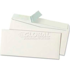 Universal One® Peel Seal Strip Business Envelope, #10, White, 100/Box