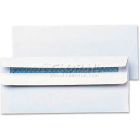 Universal One® Self-Seal Business Envelope, Security Tint, #10, White, 500/Box