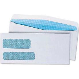 Universal® Double Window Business Envelope, #9, White, 500/Box