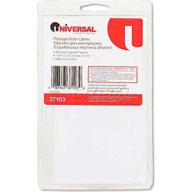 Universal® Self-Adhesive Postage Meter Labels, 1-1/2w x 2-3/4 or 5-1/2, WE, 160-Sheet/Pack