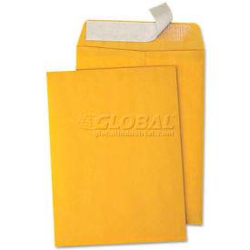Universal One® Pull & Seal Catalog Envelope, 10 x 13, Kraft, 100/Box