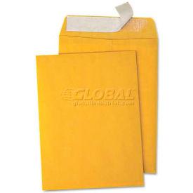Universal One® Pull & Seal Catalog Envelope, 9 x 12, Light Brown, 100/Box