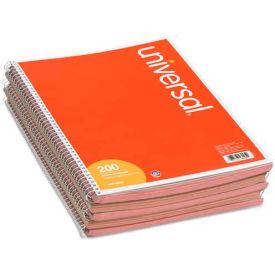 Universal® Wirebound Message Books, 3-3/16 x 5 1/2, Two-Part Carbonless, 200-Set Book