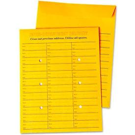 Universal® Interoffice Press & Seal Envelope, 10 x 13, Brown, 100/Box