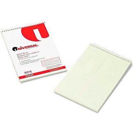 Universal® Steno Book, Gregg Rule, 6 x 9, Green, 60 Sheets/Pad