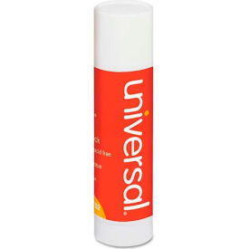 Universal Permanent Glue Stick, 1.3 oz., Stick, Clear, 12/Pack