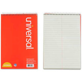 Universal® Steno Book, Gregg Rule, 6 x 9, Green, 80 Sheets/Pad
