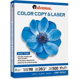 Laser Paper - Universal UNV96244 - White - 8-1/2 x 11 - 28 lb. - 500 Sheets/Ream