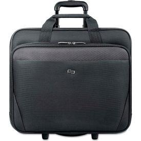 "SOLO® Classic 17.3"" Rolling Case, 16 1/2 x 8 x 14 1/4, Gray"