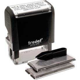 Trodat® Self-Inking Do It Yourself Message Stamp, 3/4 x 1 7/8