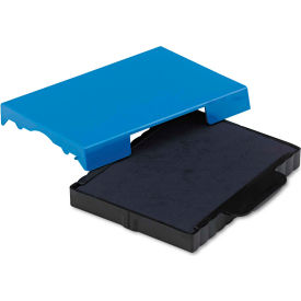 U. S. Stamp & Sign® Trodat T4727 Dater Replacement Pad, 1 5/8 x 2 1/2, Blue