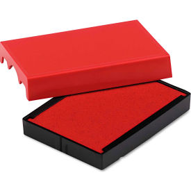 U. S. Stamp & Sign® Trodat T4729 Dater Replacement Pad, 1 9/16 x 2, Red