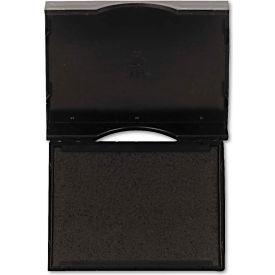 U. S. Stamp & Sign® Trodat E4750 Stamp Replacement Pad, 1 x 1 5/8, Black