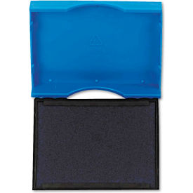 U. S. Stamp & Sign® Trodat T4750 Stamp Replacement Pad, 1 x 1 5/8, Blue