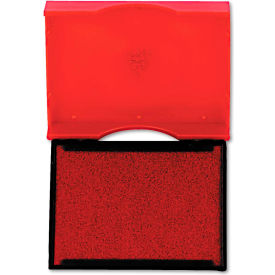 U. S. Stamp & Sign® Trodat T4750 Stamp Replacement Pad, 1 x 1 5/8, Red