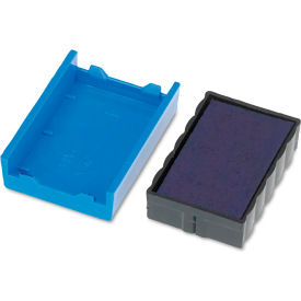 U. S. Stamp & Sign® Trodat T4850 Dater Replacement Pad, 3/16 x 1, Blue