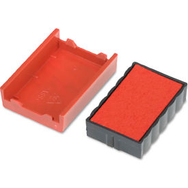 U. S. Stamp & Sign® Trodat T4850 Dater Replacement Pad, 3/16 x 1, Red