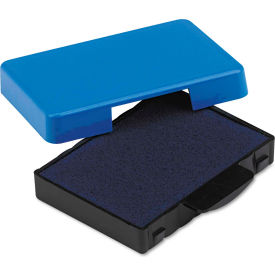 U. S. Stamp & Sign® Trodat T5430 Stamp Replacement Ink Pad, 1 x 1 5/8, Blue