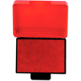 U. S. Stamp & Sign® Trodat T5430 Stamp Replacement Ink Pad, 1 x 1 5/8, Red