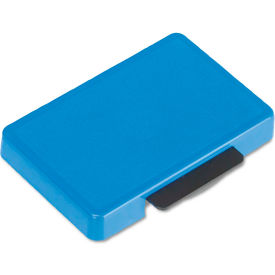 U. S. Stamp & Sign® T5440 Dater Replacement Ink Pad, 1 1/8 x 2, Blue
