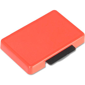 U. S. Stamp & Sign® T5440 Dater Replacement Ink Pad, 1 1/8 x 2, Red