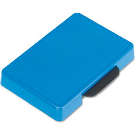 U. S. Stamp & Sign® Trodat T5460 Dater Replacement Ink Pad, 1 3/8 x 2 3/8, Blue