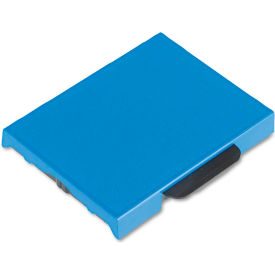 U. S. Stamp & Sign® T5470 Dater Replacement Ink Pad, 1 5/8 x 2 1/2, Blue