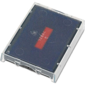 U. S. Stamp & Sign® T5470 Dater Replacement Ink Pad, 1 5/8 x 2 1/2, Red/Blue