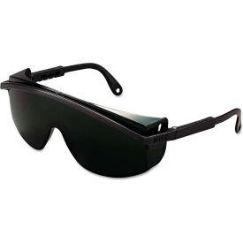 Honeywell Uvex™ 763-S1112 Astrospec 3000 Safety Glasses, Black Frame, Shade 5.0 Lens